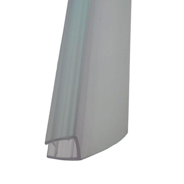 uniwersalna dolna boczna uszczelka do kabiny/parawanu drzwi Neptun Nero