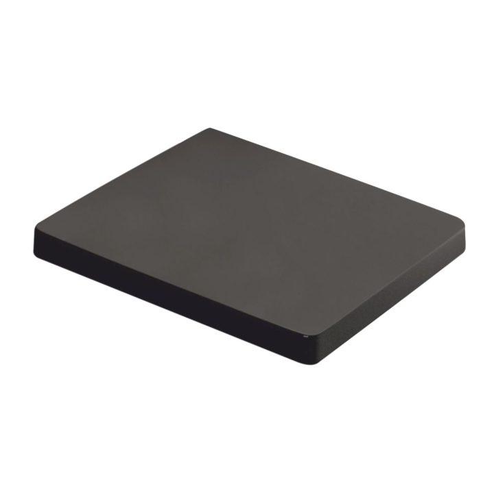 czarna deska wolnoopadająca do miski podwieszanej Kerra Thor 26