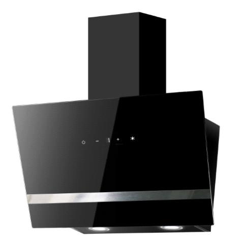 Okap kuchenny kominowy Flavio 60 (czarny)