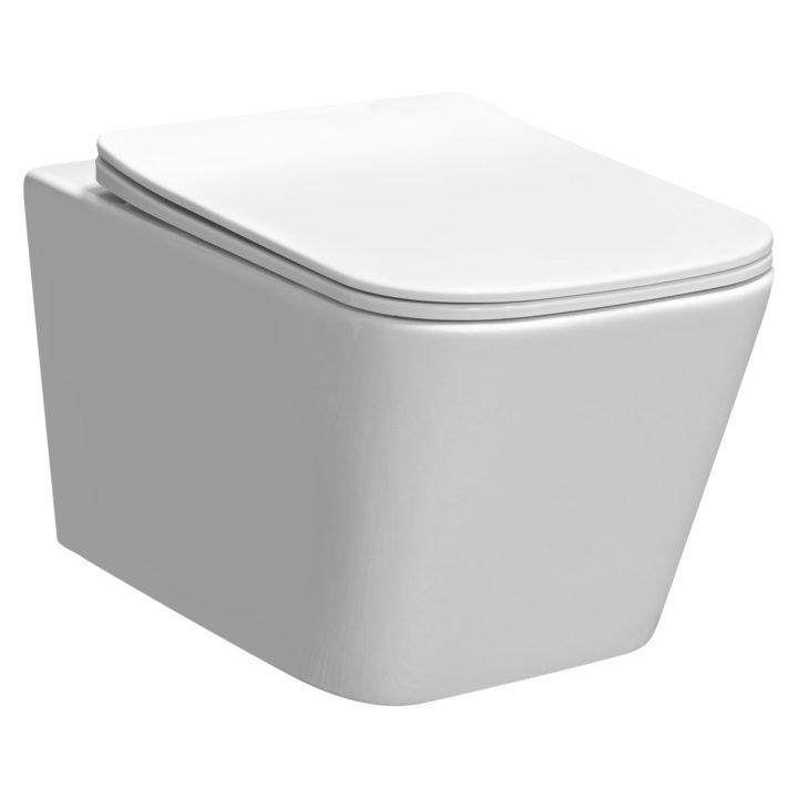 Miska WC podwieszana Tinos biała