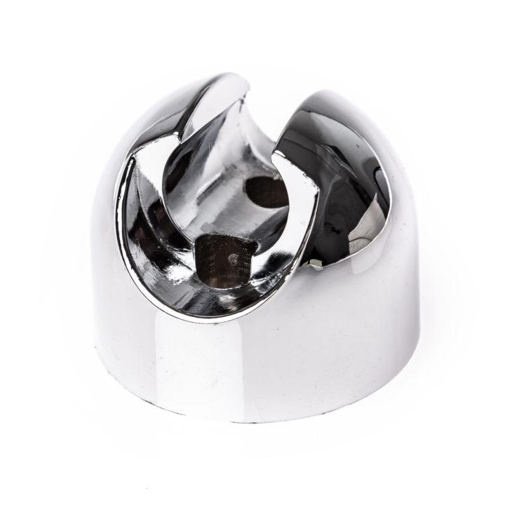 """Oryginalny uchwyt słuchawki natryskowej do panelu prysznicowego Kerra """"Cleo"""" i """"Karla"""". Rozstaw otworów montażowych: 23 mm."""