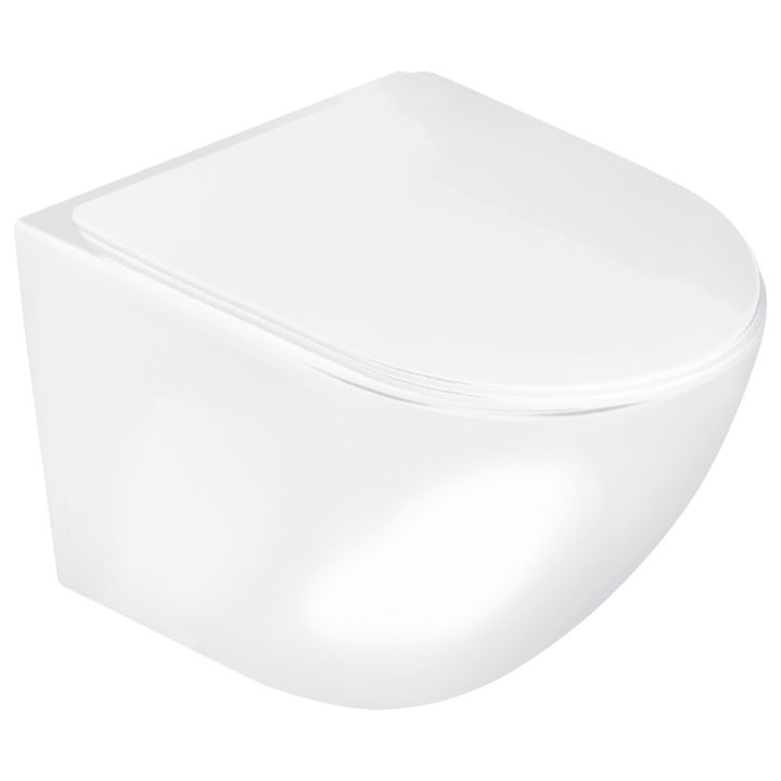 Miska WC podwieszana Delos z deską