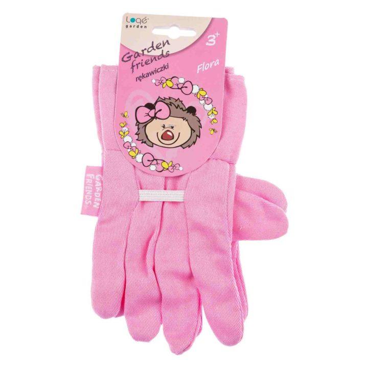 Rękawiczki dziecięce ogrodowe Flora